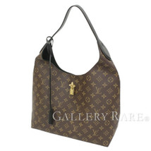 LOUIS VUITTON Flower Hobo Monogram Noir M43545 Shoulder Bag Authentic 53... - $1,642.33