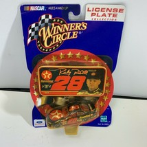 Winner's Circle Stock Car Nascar Ricky Rudd #28 License Plate Collection Sealed - $10.00