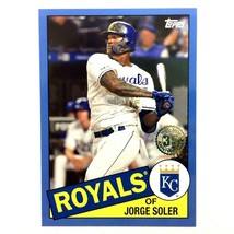 Jorge Soler 2020 Topps Series 2 1985 35th Anniversary Blue Parallel #20 ... - $3.91