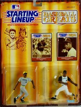 Starting Lineup Baseball Greats Willie Stargell and Roberto Clemente - $28.89