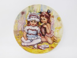 "Wedgwood Queen's Ware ""The Recital"" Plate - ""My Memories"" Series - $16.14"