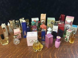 Lot of 20+ Vintage AVON Perfume Fragrance Cologne Small Bottles Original... - $23.36