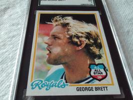 1978 Topps # 100 George Brett Sgc 84 K. C. Royals Baseball !! - $35.99