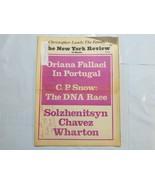 The New York Review of Books 1975 November Oriana Fallaci Solzhenitsyn C... - $39.99