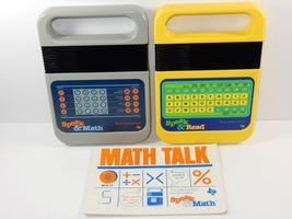 Texas Instruments 1980 Speak & Math + Speak & R... - $69.28