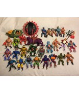 (33) 1982-86 Masters of the Universe MOTC Action Figure Vehicle Accessor... - $494.99