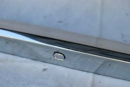 07-10 Infiniti G35 G37 4dr Sedan Trunk Lid  Finisher Trim Chrome NO CAMERA image 2
