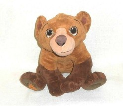 Disney Brother Bear Koda 11 inch Talking Stuffed Animal Plush Toy Working - $14.84