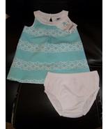 Janie & Jack South Beach Beauty Tile Print Dress Size 3/6 Months Girl's ... - $37.26