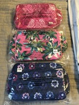 NEW Vera Bradley  LARGE BLUSH & BRUSH MAKEUP CASE Travel Organizer - $34.00