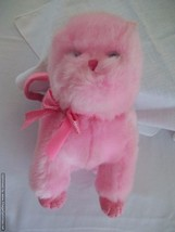 TY Beanie PINKS Babies 3004 Pink Kitty Cat Purse - Pink - Excellent Pre-... - $12.38