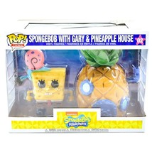 Funko Pop! Town Spongebob Squarepants with Gary & Pineapple House Figure #02 image 1