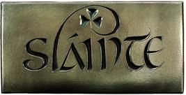 Wild Goose Slainte Sign H Plaque Resin Cast Bronze Coated H Blessing Goo... - $107.26