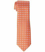 Tommy Hilfiger Men's Bubble Unsolid Tie Orange One Size - $64.35