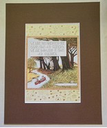 """Mary Engelbreit Print Matted 8 x 10 """"We Have Not Inherited the Earth"""" - $16.40"""