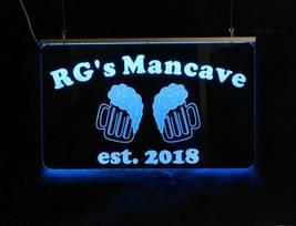 Personalized Beer Mug Bar Sign, Man Cave Sign, Game Room Sign image 5