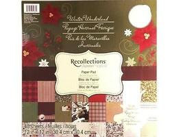 Recollections Winter Wonderland 12x12 Cardstock Paper Pad #201033