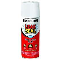 Rust-Oleum 267970 LeakSeal Flexible Rubber Coating Spray, 12 oz, White - $6.58