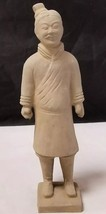 "Vintage Ceramic Chinese Man Figurine: Asian Oriental Statue, 9"" Tall Dec... - $24.18"