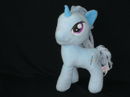 "2014 My Little Pony Hasbro Trixie Lulamoon Blue Plush Toy 12"" - $11.88"