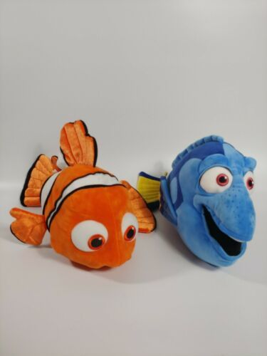 "Primary image for Authentic Disney Store Finding Nemo & Finding Dory Combo Plush Toy Set 18"" Long"