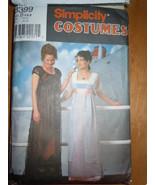 Simplicity Misses Misses Petite 4-8 Edwardian Gown Titanic Costume #8399... - $25.99