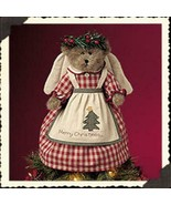 """Boyds Bears """"Annalee Angelberry"""" 12"""" Angel Tree Topper- #74117-  New -2004 - $49.99"""