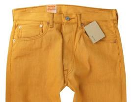 Levi's 501 Men's Original Fit Straight Leg Jeans Button Fly Gold 501-1817 image 4