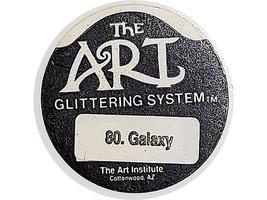 The Art Institute Glittering System-Galaxy Glitter- #80 (Blue-Black) image 2