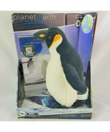 "Emperor Penguin 11"" Plush BBC Planet Earth Stuffed Animal With Bonus DVD NOS - $23.74"