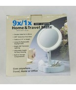 Floxite magnifying mirror home travel mate 9x/1x - $54.45