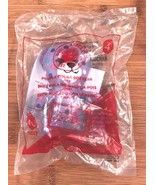 NIP 2015 McDonalds BABW Build A Bear Workshop Purple Polka Dot Bear #4 P... - $2.99