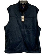 Van Heusen Luxe Touch Traveler Vest Mens Size XL Blue Easy Care Breathab... - $39.00