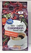 Great Value 100% Arabica Colombian Medium Dark Roast Ground Coffee 12 oz - $6.57