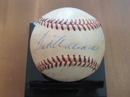 Ted Williams Hof Red Sox Signed Auto Rare Game Used Giles Baseball Jsa Loa - $593.99