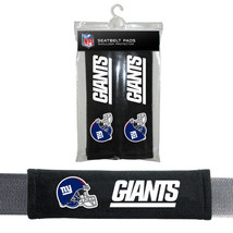 NIP NFL NEW YORK GIANTS SEAT BELT PADS VELOUR PAIR - €9,30 EUR