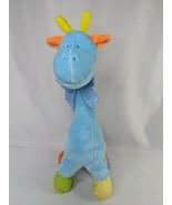 "Giraffe Plush Rattle 14"" ABC 123 Gabi Toy Multicolor Stuffed Animal Toy - $12.95"