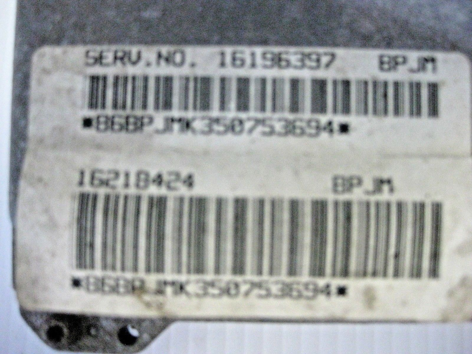 Oldsmobile Cutlass 1995 ECM ECU Module OEM 16218424