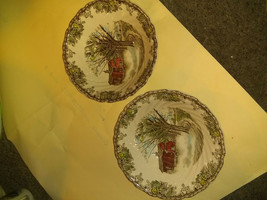 "ANTIQUE Johnson BroS. Friendly Village 8"" SERVING BOWL EX COND!!! - $20.79"