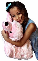 Love Poodle ZooPurr Pets 2 in 1 Stuffed Animal Pillow 19 inches Large Ages 3+ - $36.62