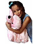 Love Poodle ZooPurr Pets 2 in 1 Stuffed Animal Pillow 19 inches Large Ag... - $36.62