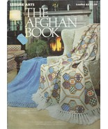 1 Vintage 1975 Leisure Arts Leaflet #63 The Afghan Book Patchwork Knitte... - $5.99
