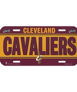 NBA Cleveland Cavaliers Plastic License Plate - $9.95