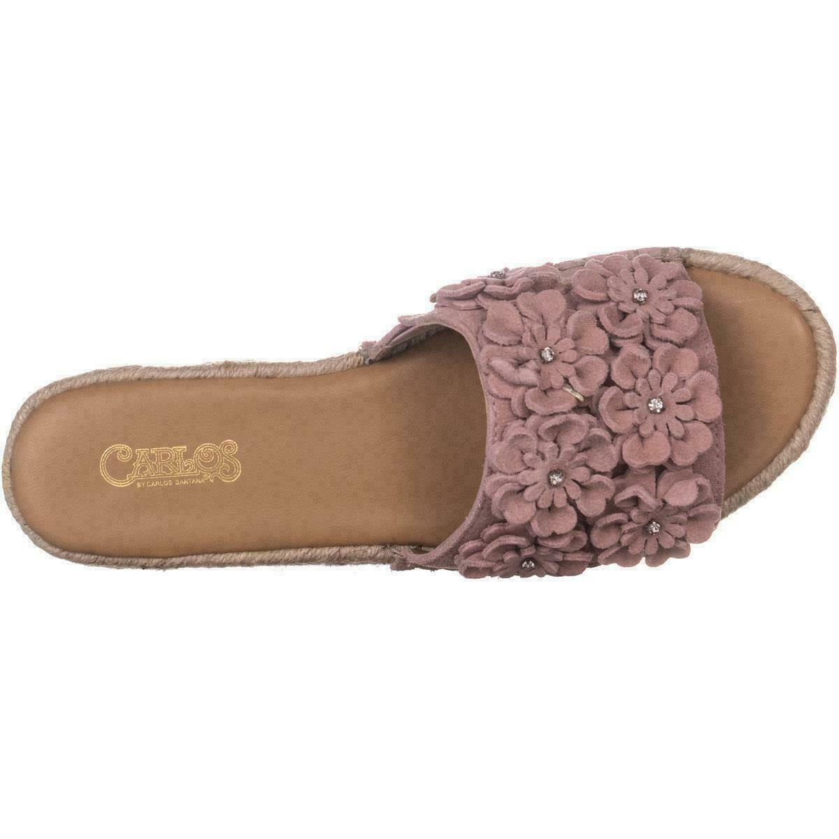 Carlos by Carlos Santana Chandler Sandals Pink Blush, Size 7 M