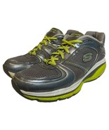 Skechers Womens Shape Ups S2 Lite Gray Toning Walking Shoes 12381 Size 11 - $29.69