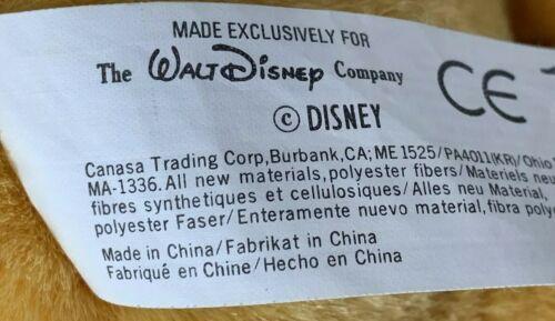 "Disney Store Parks Winnie the Pooh Bear Plush Soft Teddy 10"" Stuffed Animal"