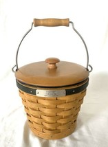 Longaberger 2004 Gathering Basket Collectors Club Protector Liner Lid Co... - $34.30