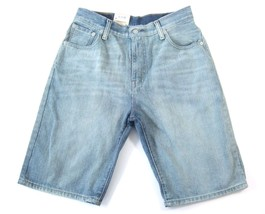 Levi's 569 Men's Premium Cotton Loose Straight Denim Shorts Blue 355690093