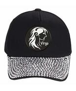 Virgo Sign Hat - Style Color Options - Astrology Zodiac (Rhinestones) - $18.95