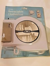 WHITMOR Retractable Clothesline 20 Foot for Indoor or Outdoor NEW SEALED - $19.79